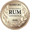 medaille argent international rum conference 2012