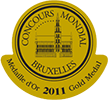 medaille or concours bruxelles 2011