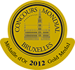 medaille or concours bruxelles 2012