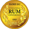 medaille or international rum conference 2012