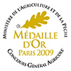 medaille or salon agriculture 2009