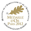 medaille or salon agriculture 2012